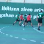 Buena defensa del Partizan